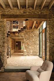 Best  Stone Interior Ideas On Pinterest Stone Homes Interior - Interior design home ideas