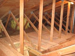 installing attic insulation mikes tech blog plywood around access