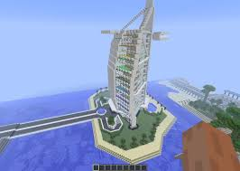 Interior Of Burj Al Arab Burj Al Arab Dubai 7 Stars Hotel Minecraft U0026 Interior Youtube