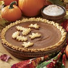 spiced pumpkin pie recipe taste of home