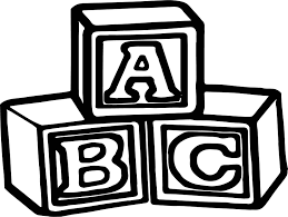 abc cube coloring pages wecoloringpage