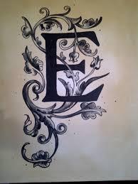 the letter e a little glue and glitter pinterest fonts