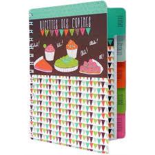 cahier de cuisine vierge cahier vierge de cuisine à recettes des copines carnet idée cadeau