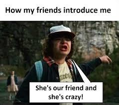 Crazy Friends Meme - who s that crazy friend yowbuzz
