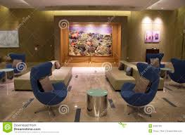 modern furniture in luxury hotel lobby editorial photo image