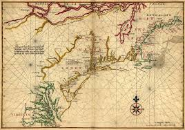 Map Of Nirth America by Of Atlantic Coast Of North America In 1600 U0027s