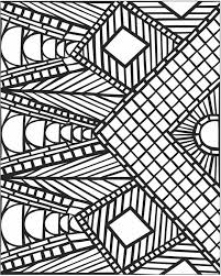 pattern coloring pages bestofcoloring