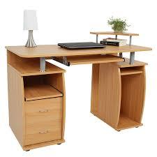 Schreibtisch F Die Ecke Schreibtisch Computertisch Bürotisch Mit Tastaturauszug 2