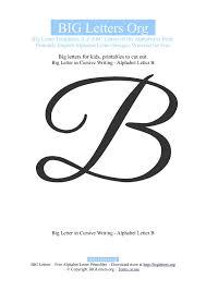 printable big letter b templates big letters org