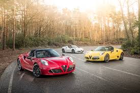 alfa romeo spider 2017 the alfa romeo 4c spider 50th anniversary limited edition