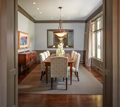 Dining Rooms With Wainscoting Sparkling Gray Wainscoting Bathroom Eclectic With Pendant Light