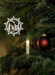 tree candle lights