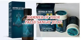 ciri hammer of thor asli bagaimana cara mengetahuinya