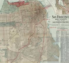 San Francisco Pier Map by This Map Traces The Old Railroad Tracks That Used To Run Through