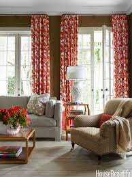 interior living room curtain ideas images for short windows
