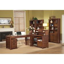l shaped desk home office furniture pretty black l shaped desk with hutch made of wood by