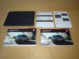 vauxhall opel insignia owners manual handbook 2013 2016 1 4