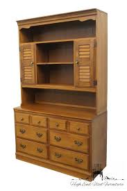 Heywood Wakefield China Cabinet High End Used Furniture Heywood Wakefield Old Colony Maple 48