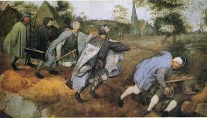 King Of The Blind Parable Of The Blind 1568 Pieter Bruegel The Elder Wikiart Org