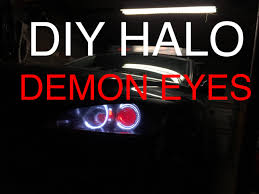 mazda 3 logo how to install halo u0026 demon eyes mazda 3 hd youtube