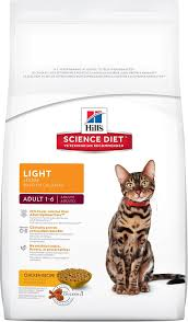 science diet light calories hill s science diet light dry cat food 16 lb bag chewy com