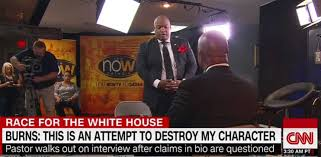 Donald Burns Resume Writer Trump Backer Mark Burns U0027s Painfully Bad Attempts To Defend His