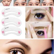 eyebrow templates images eye makeup ideas