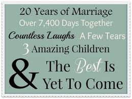 20th wedding anniversary best 25 20th wedding anniversary gifts ideas on diy