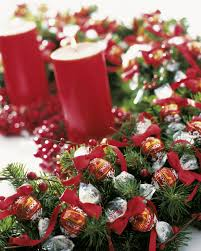 christmas decor for table u2013 decoration image idea