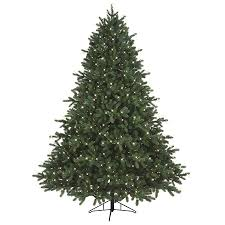 shop ge 7 5 ft pre lit pinehurst spruce artificial tree