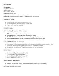 lpn resume template lpn resume objective resume template new grad lpn resume objective