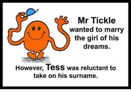 Tickle Memes - mr tickle wanted to marry the girl of his dreams however tess was
