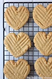 heart shaped cookies heart shaped peanut butter cookies
