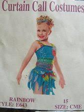 curtain call costume ebay