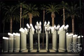 furniture los angeles lacma lights light poles los angeles lacma
