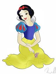 snow white coloring page by bigtimerachell on deviantart