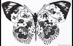 about butterfly tattoos and their meanings aztec butterflies