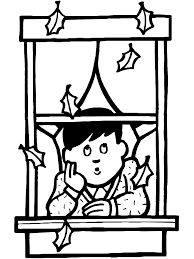 fall coloring page falling leaves primarygames play free