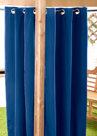 Gazebo Curtains Waterproof Outdoor Curtain Eyelet Panel 55 Garden D礬cor Drapes