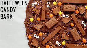 halloween candy bark recipe halloween recipes
