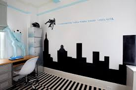 Modern Guys Bedroom by Teen Boy Bedroom Ideas Room Waplag Amusing Black Sticker Wall