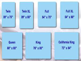 Crib Mattress Standard Size Mattress Mattress California King Compared Measurements