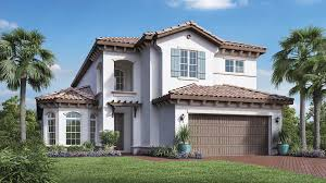 Spanish Colonial House by Jupiter Country Club Golf Villas Quick Delivery Home Saviero