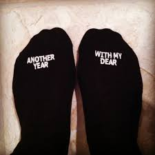 happy anniversary socks another year with my dear men u0027s