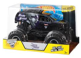 Amazon Com Wheels Monster Jam Mohawk Warrior Die Cast Vehicle