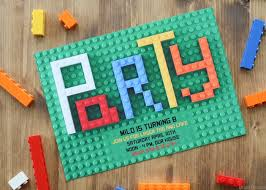how to make a lego friends party invitation anika u0027s diy life