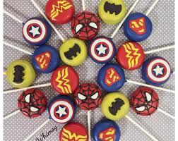 spiderman cake pop etsy