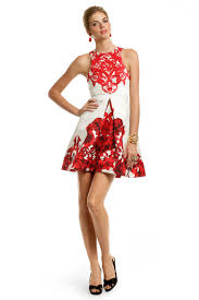 print dress rococo print dress by tibi for 75 rent the runway