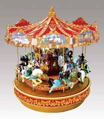 my miniature musical carousel sale of miniature musical carousels