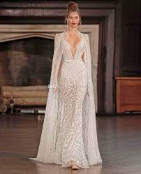 real photo wedding dresses with cape 2017 berta bridal